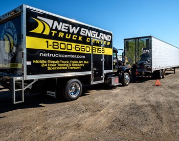 Roadside Assistance at New England Truck Center